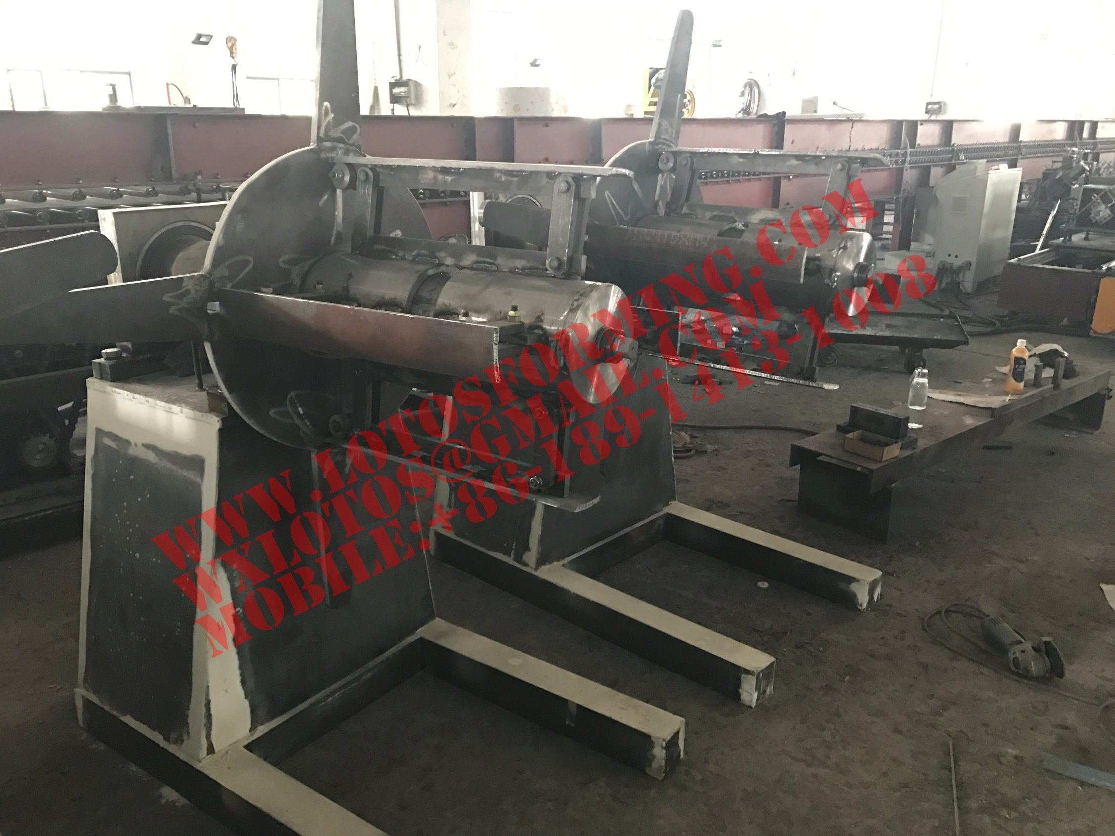 Hydraulic New Style Decoiler Machine with Ce Certification