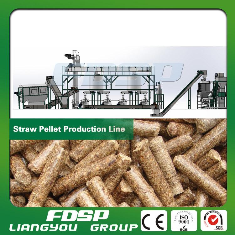 Biomass Wood Sawdust Burning Pellet Plant