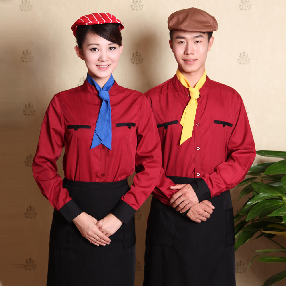 Custom Slim Fit Hotel Staff Uniforms Wholesale