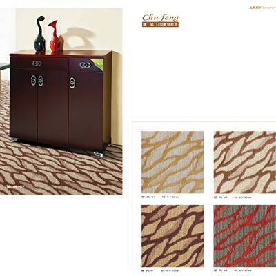 Pattern 1/10 Organic Polypropylene Jacquard Carpet Hight Price