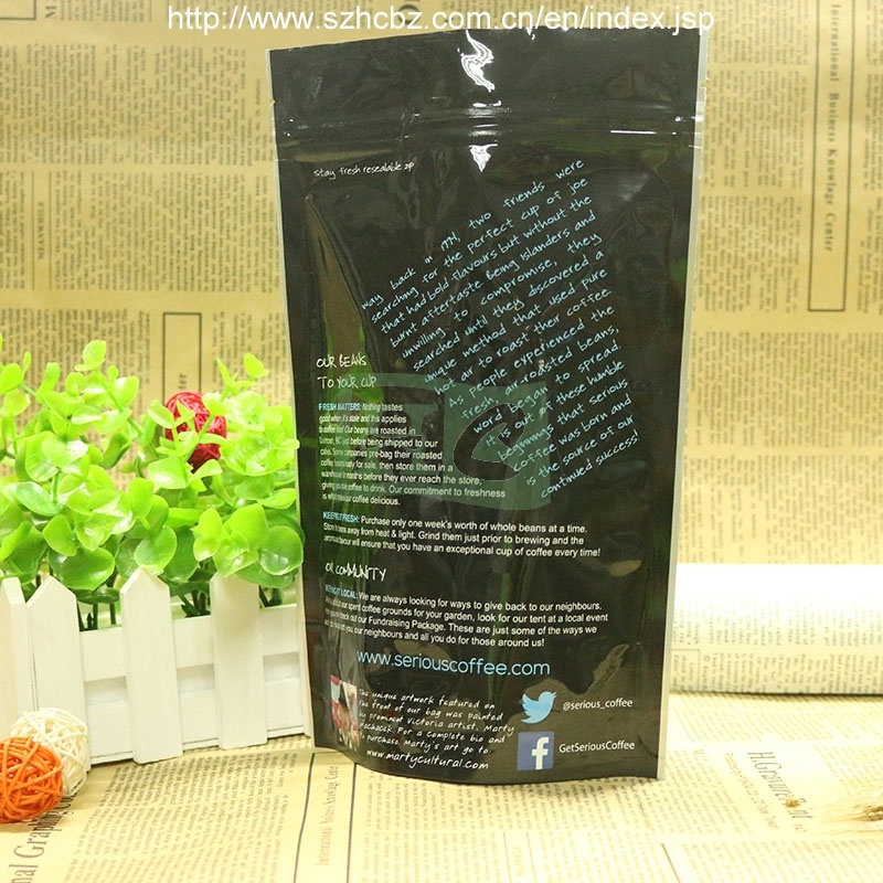 FDA Proved Printed Plastic Vacuum Bag Food Packaging Bag Coffee Bag Coffee Pouch