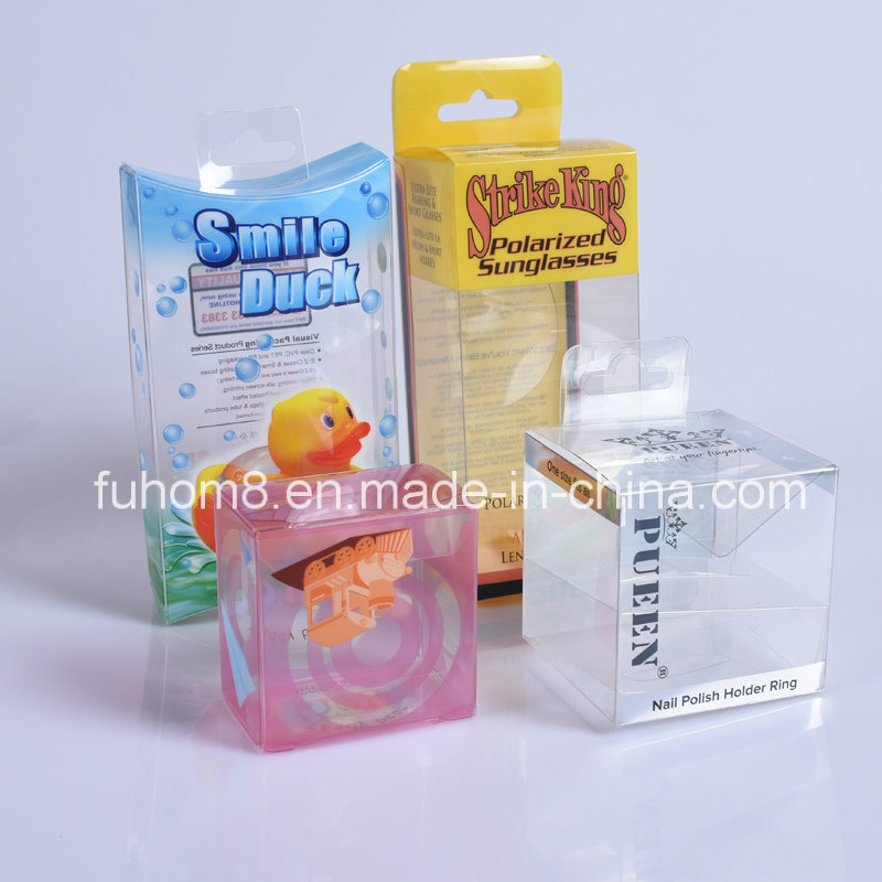 Custom Clear Foldable Printing PP/PVC/PET Plastic Packaging Box