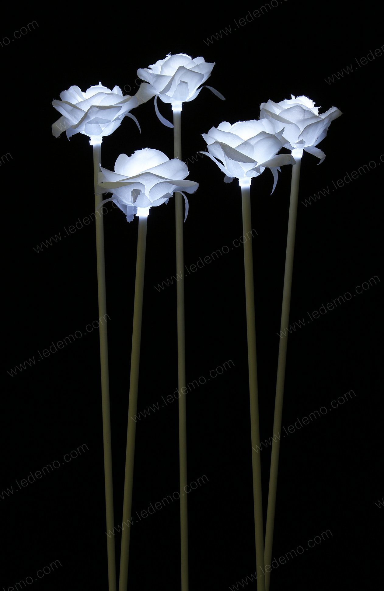 LED White Decoration Rose Recessed Light