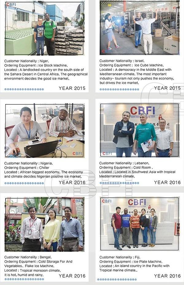 Cbfi Customer Welcomed Integrated Design Edible Ice Making Machine