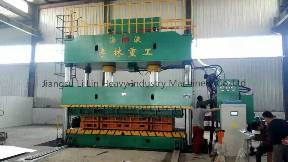 Four-Column, Single-Movement Hydraulic Press for Sheet Metal Drawing Yll27-630t