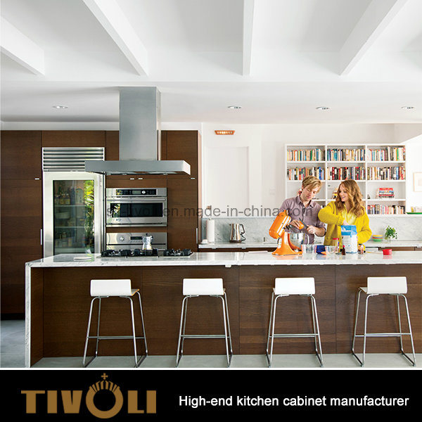 Luxury Kitchen Kabinet New design for Hom Furnituer Custom Made for Project Budget Tivo-0086h