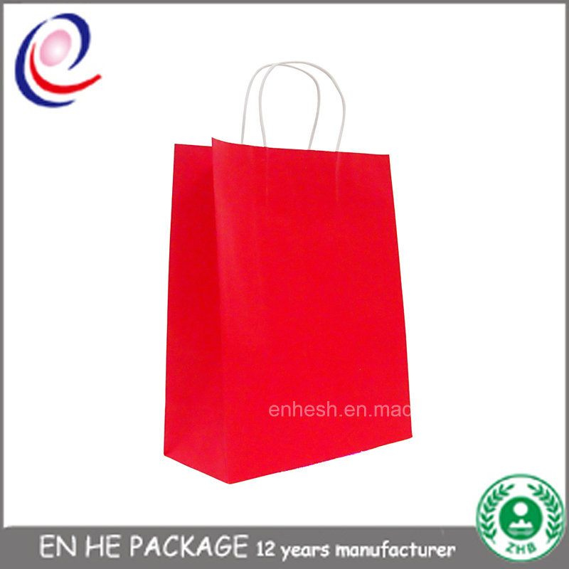 Eco Friendly Custom Printed Foil Shopping Gift Paper Bag