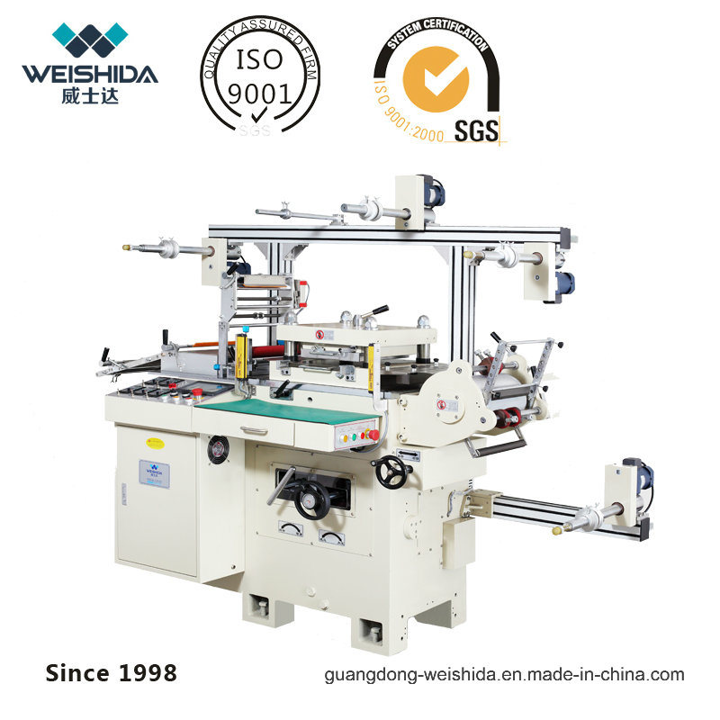 Wa500 Automatic Hi-Speed Die Cutting Machine with Lower Noise