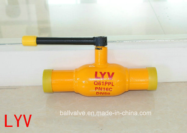 Actuated Forged API ISO Big Size Fully Welded Ball Valves