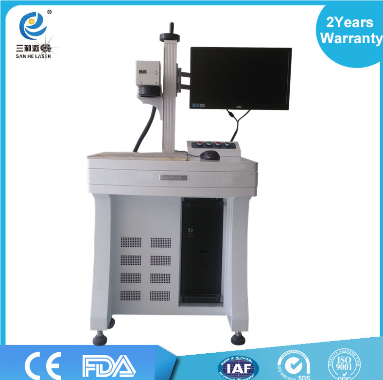20W Fiber Laser Marking Machine Price for Metal / Glass / Plastic / iPhone 6 Case