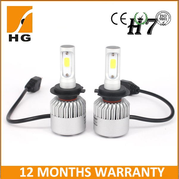 8000lm S2 COB Seoul Csp Car LED Headlight for Car H1 H3 H4 H7 9012 H11 9005 Fog Light From Factory Car LED Headlight