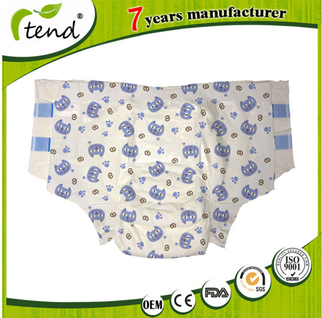 OEM Disposable Super Absorption Baby Print Abdl Adult Diaper for Senior/Elderly/Old People
