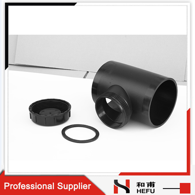 Access Fitting with Screwed Access Cover 90deg Inspection Hole Siphonic Pipe Access Fitting