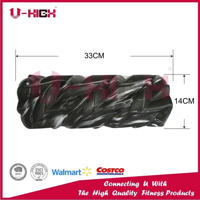 High Density Camo EVA Filled Foam Roller Fitness Equipment Leaf Style