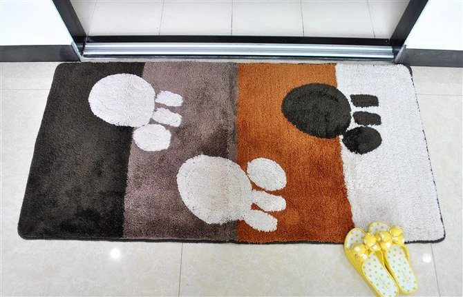 High Quality Eco-Friendy Non-Slip Tufted Bathroom/Floor/Door Rug