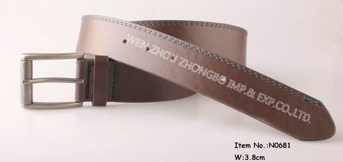 2017 Fashion Men′s Flat Belt