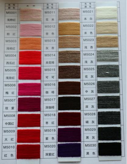 Polyester/Acrylic/Woolblended Weaving Yarn