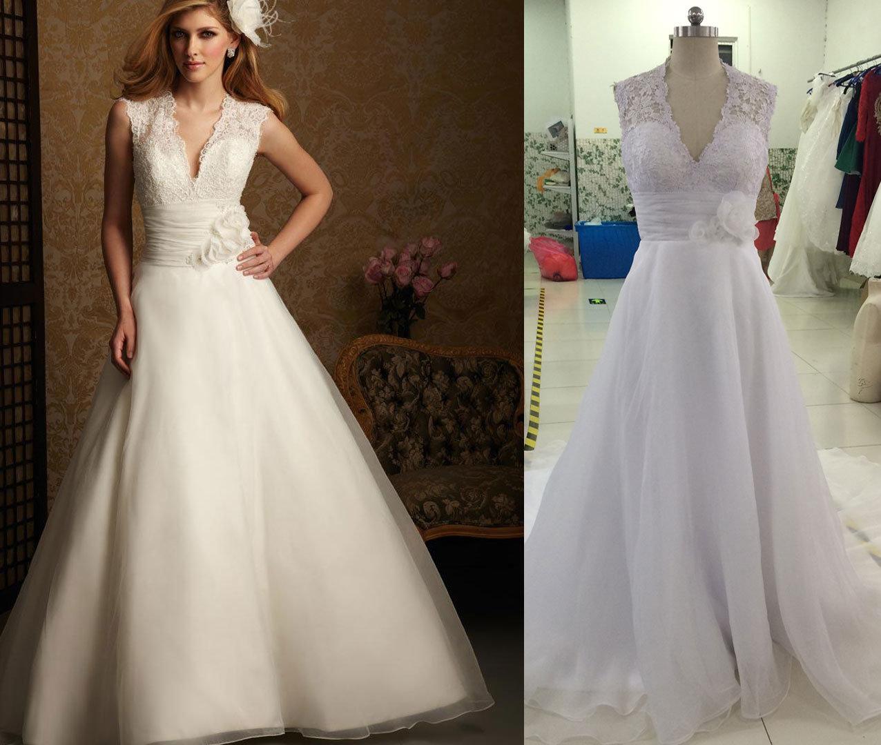 Jacket Lace Organza Wedding Dress