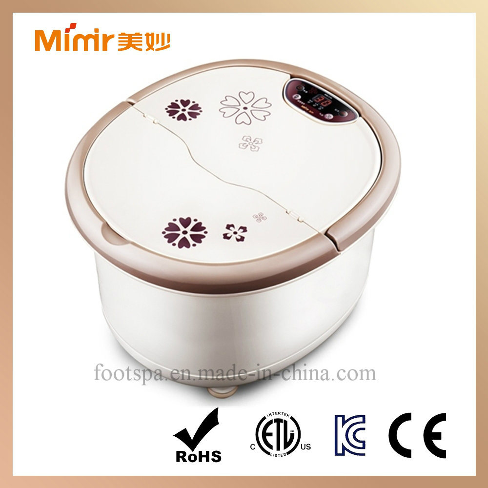 Manufacturer Foot Bath Massager with Heating Function