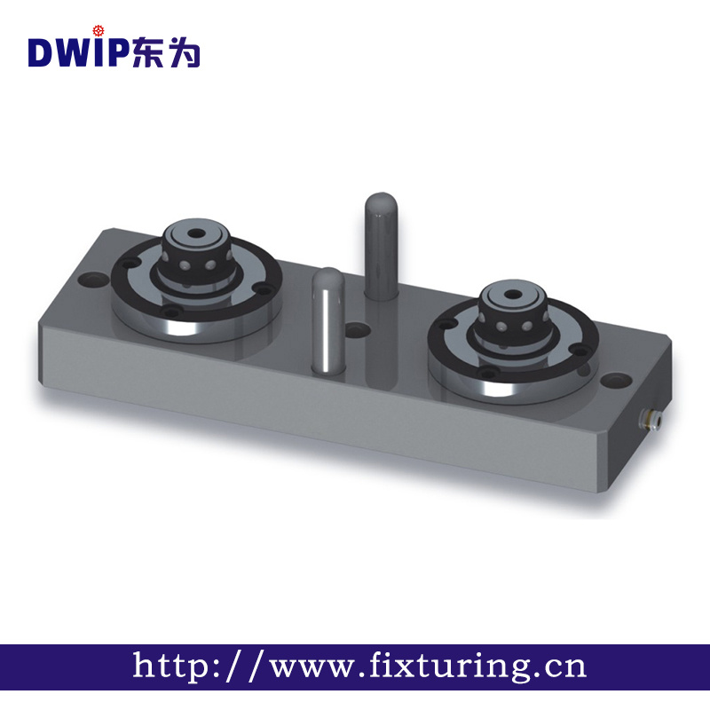 Erowa Compatible 2 Heads Heavy Duty Magnetic Pneumatic CNC Chuck