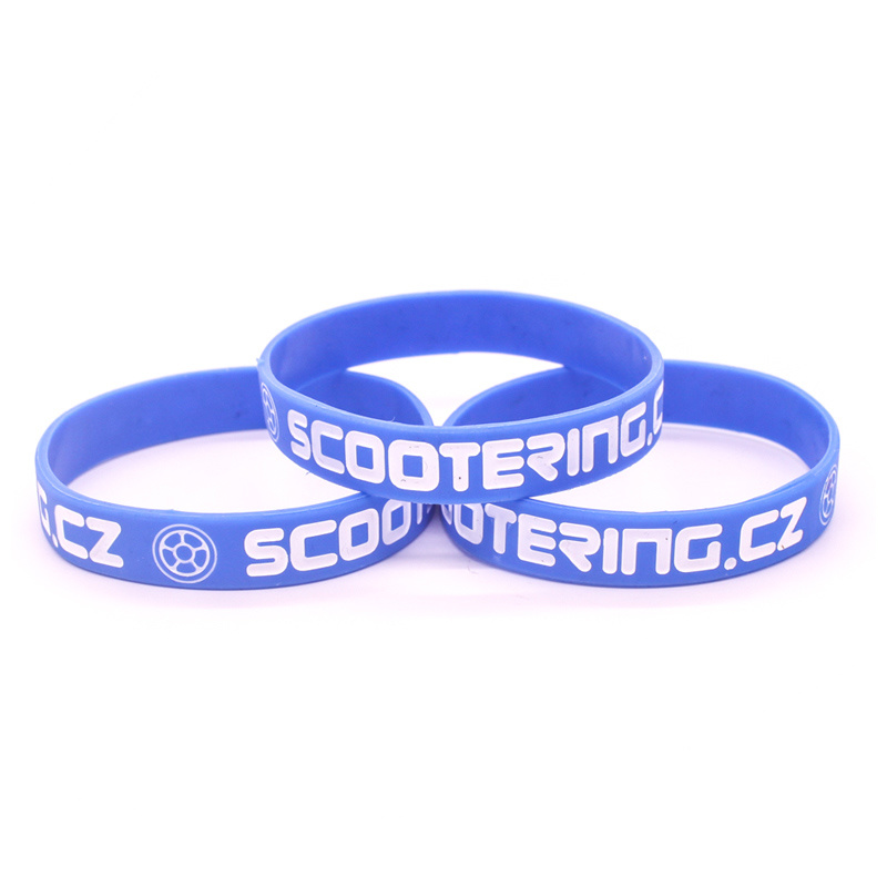 Wholesale OEM Glow in Dark Silicone/Rubber Wristband