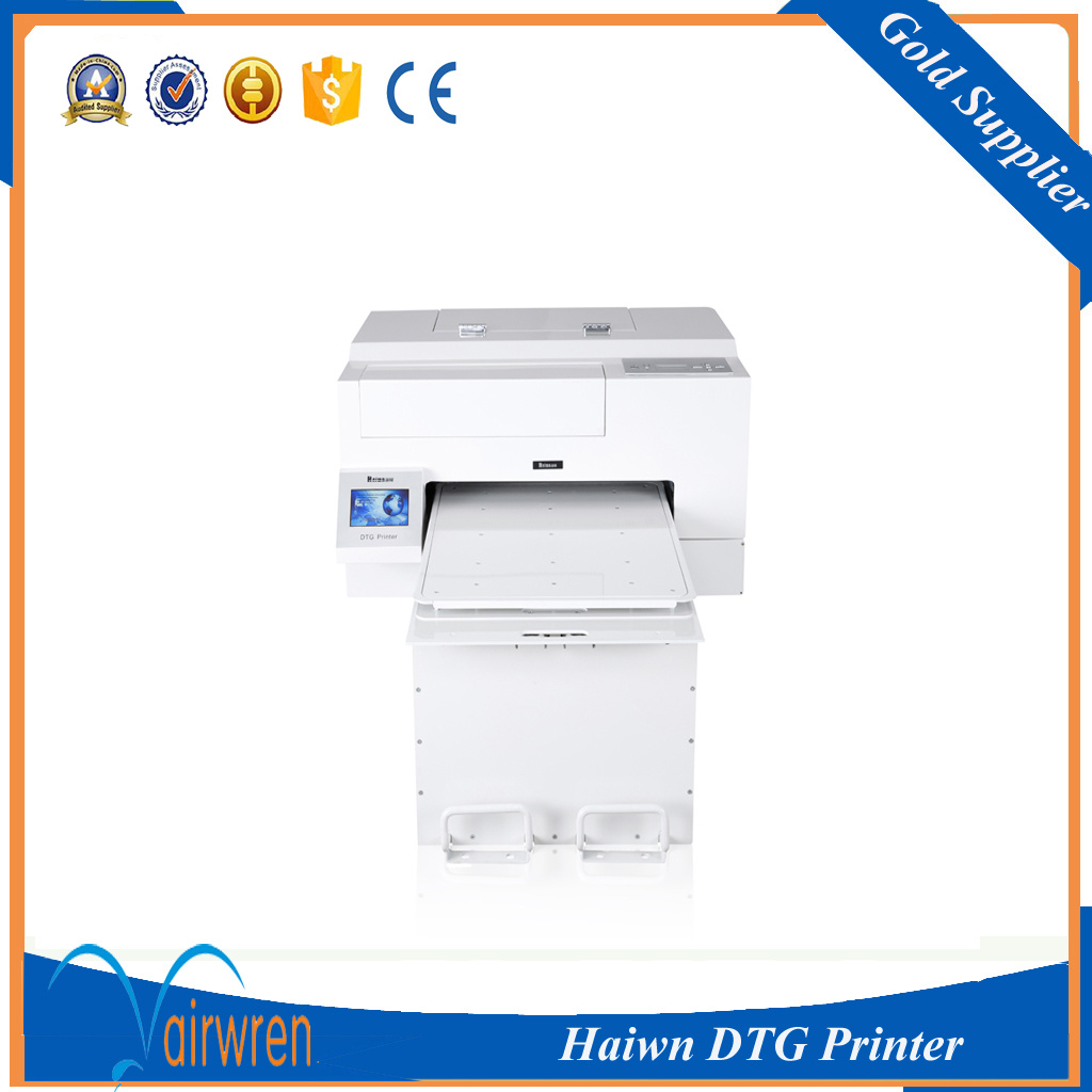 Factory Price Textile DTG Printer A2 Size Fabric T-Shirt Printing Machine with Ce Certification