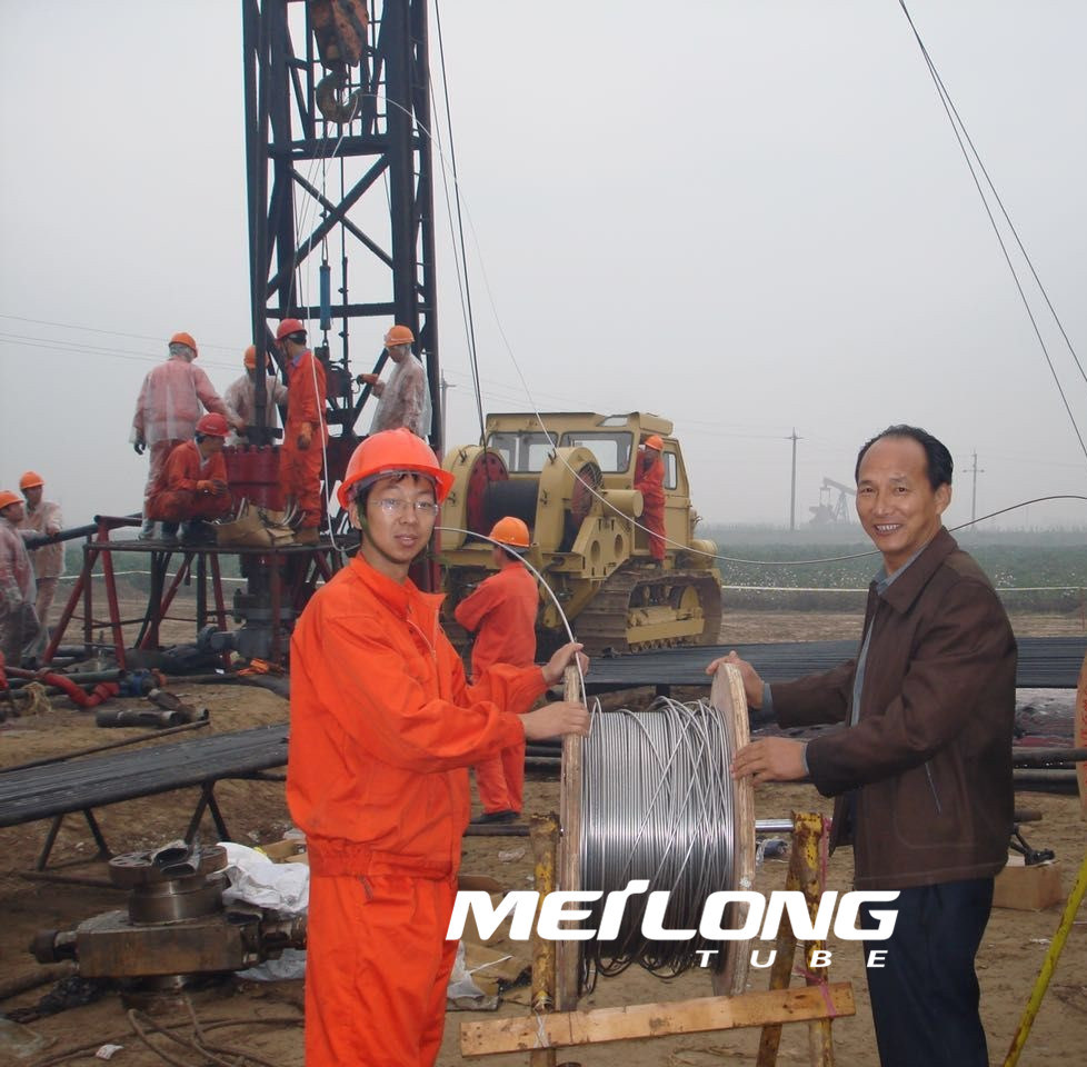 Incoloy 825 Downhole Capillary String Tubing