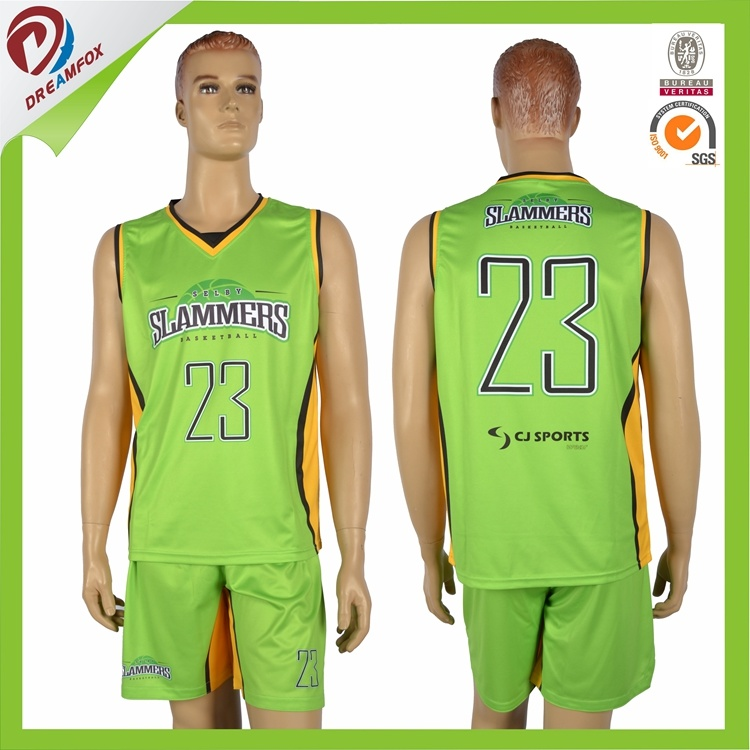Make Your Own Sublimation Camo Reversible Women Basketball Jersey Design