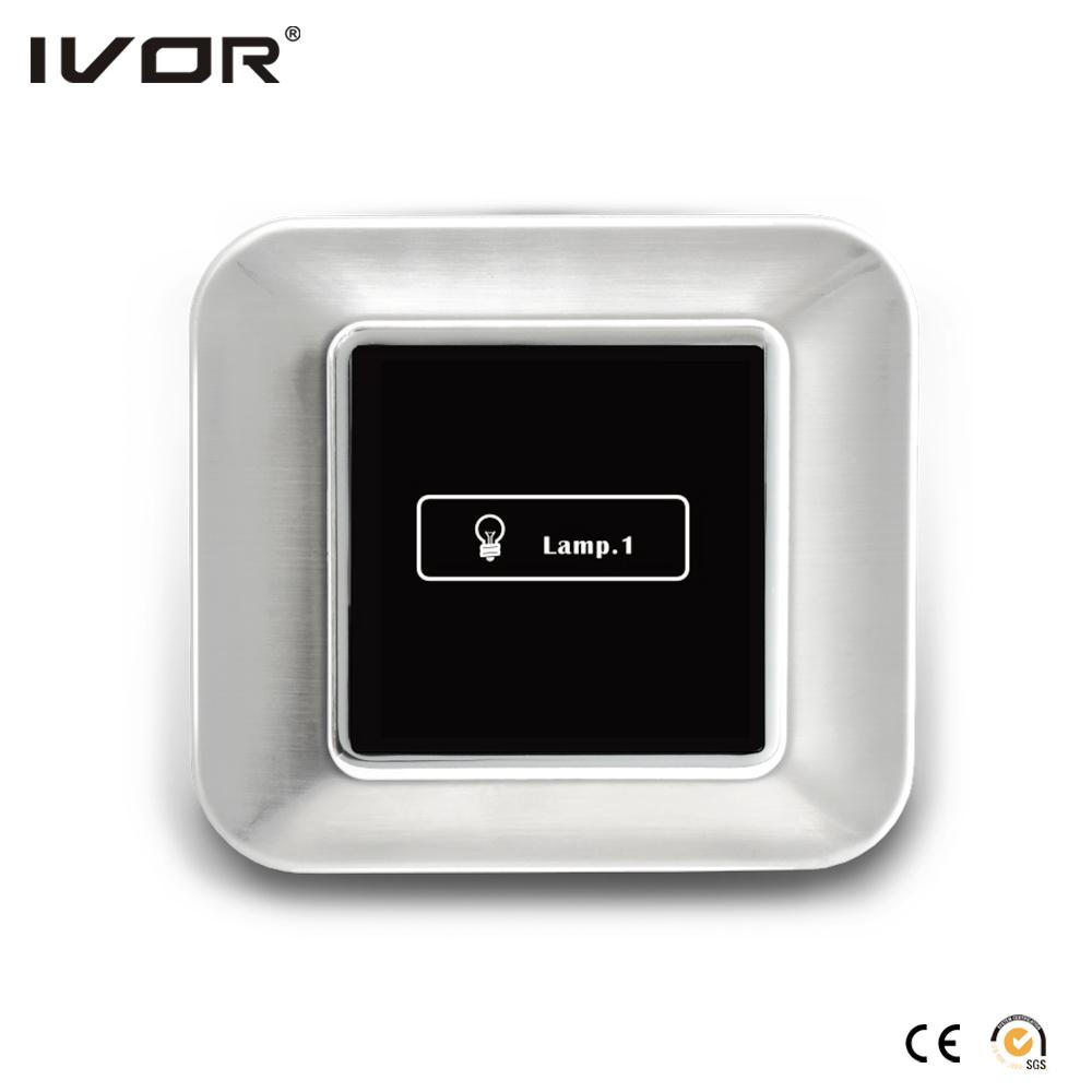 1 Gang Lighting Switch Touch Panel Aluminum Alloy Outline Frame (HR1000-AL-L1)