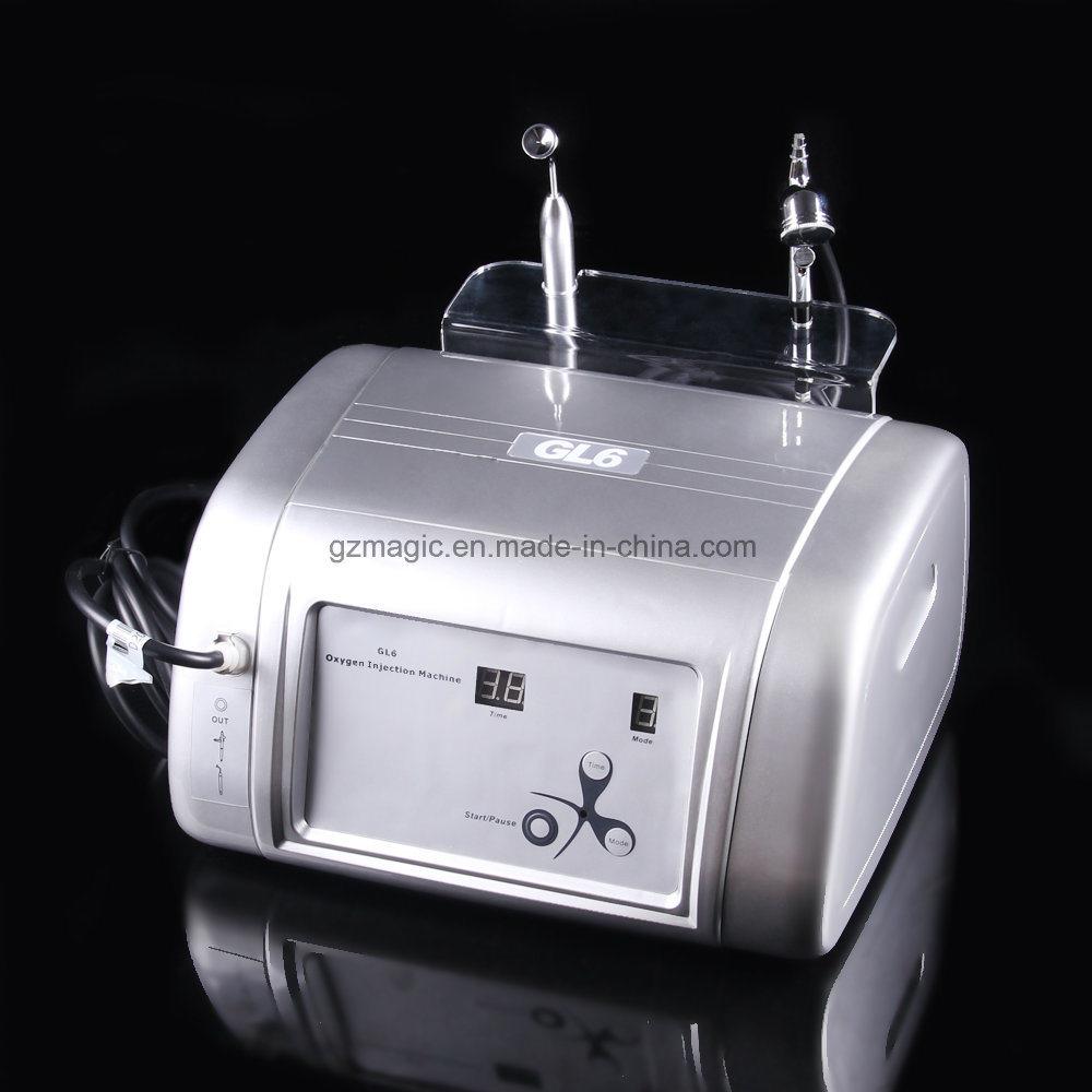 Portable 2 in 1 Oxygen Hyperbaric Chamber Airbrush Spray Gun for Salon Use