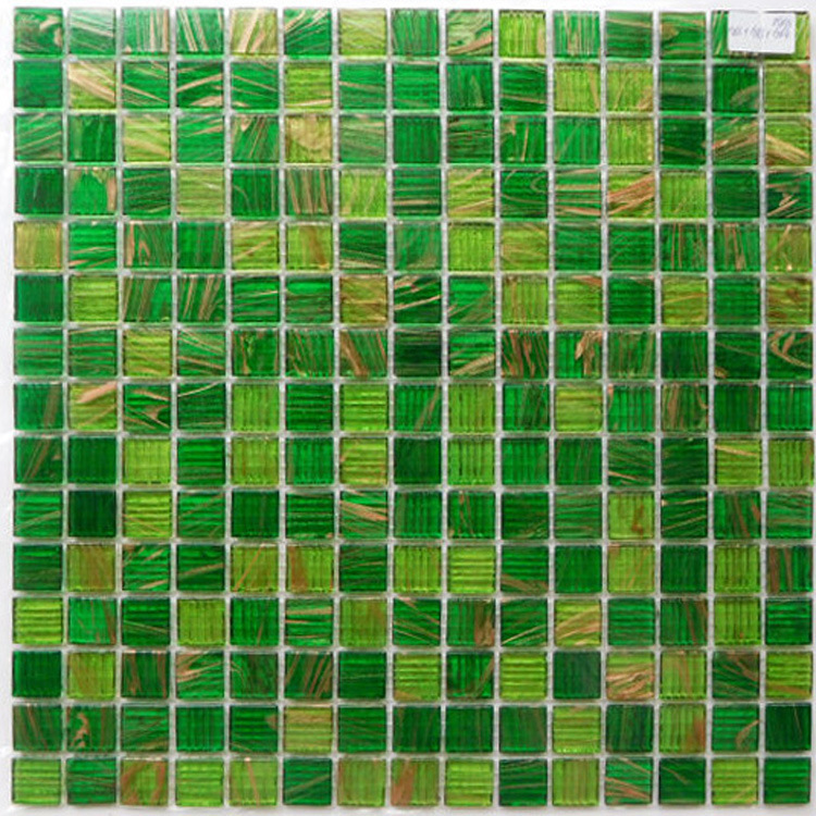 Cheap Glass Mosaic for Bathroom Wall Tile