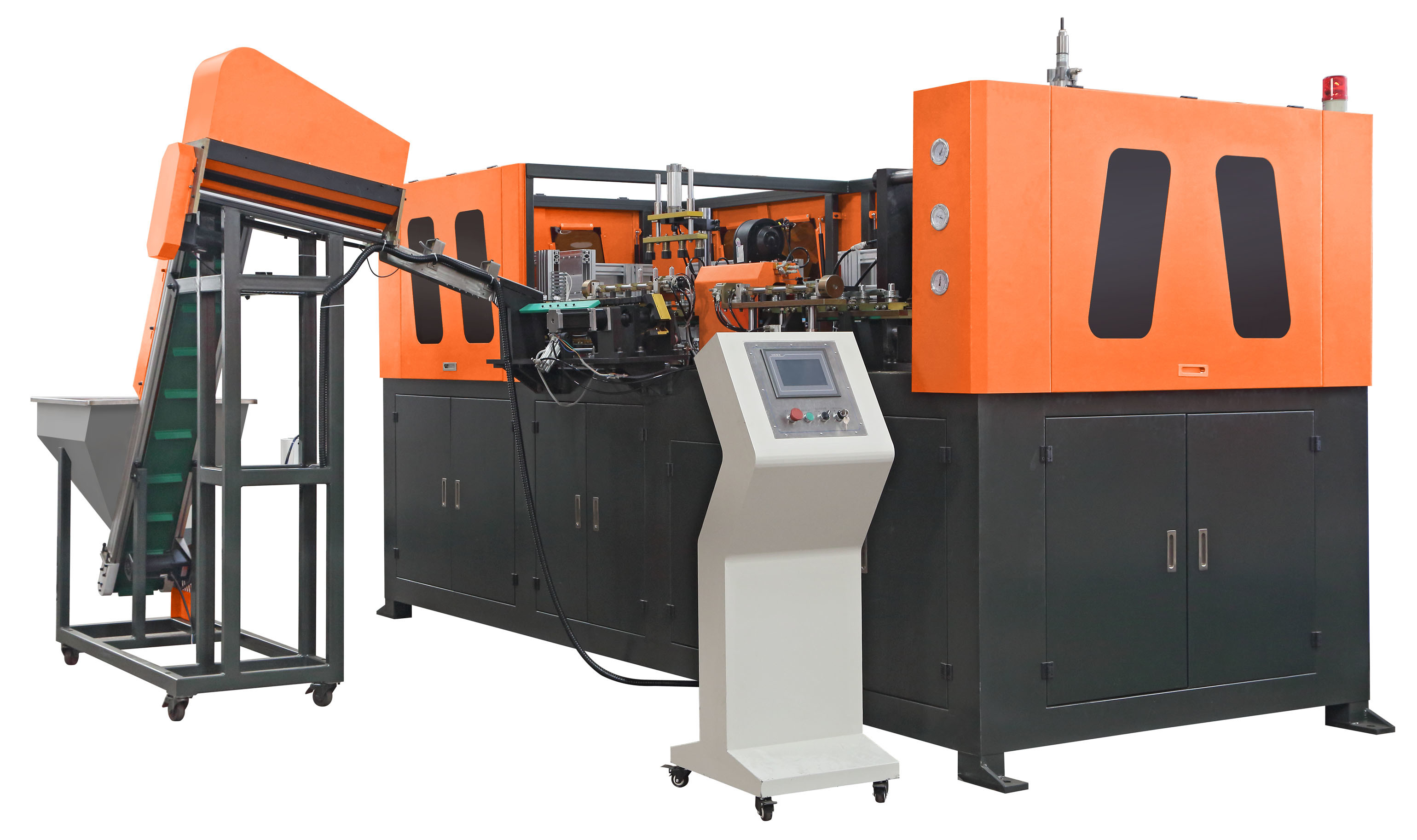 4 Cavity Fully Automatic Plastic Stretch Blow Moulding Machine