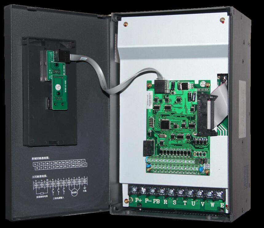 Factory 4kw 220V Single Phase Variable Frequency Drive, VFD