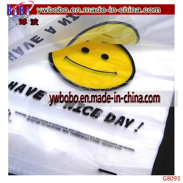Party Items Plastic T-Shirt Bags Packaging Bag Promotional Bag (G8093)
