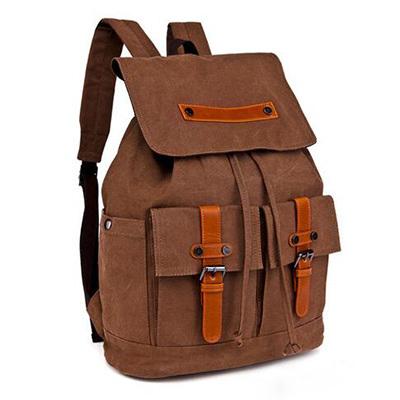 2017 Hot Sale Vintage Travel Canvas Backpack Man Bag Sy7858