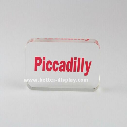 Custom Clear Acrylic Block Professional Manufacturers