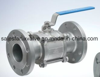 DIN ANSI 3PC Type Ball Valve with Flange