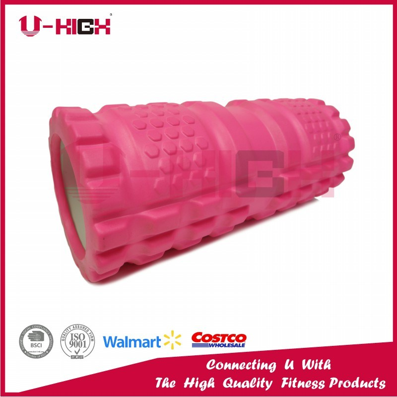 14*33cm Foam Roller Fitness Equipment Hollow EVA Injection