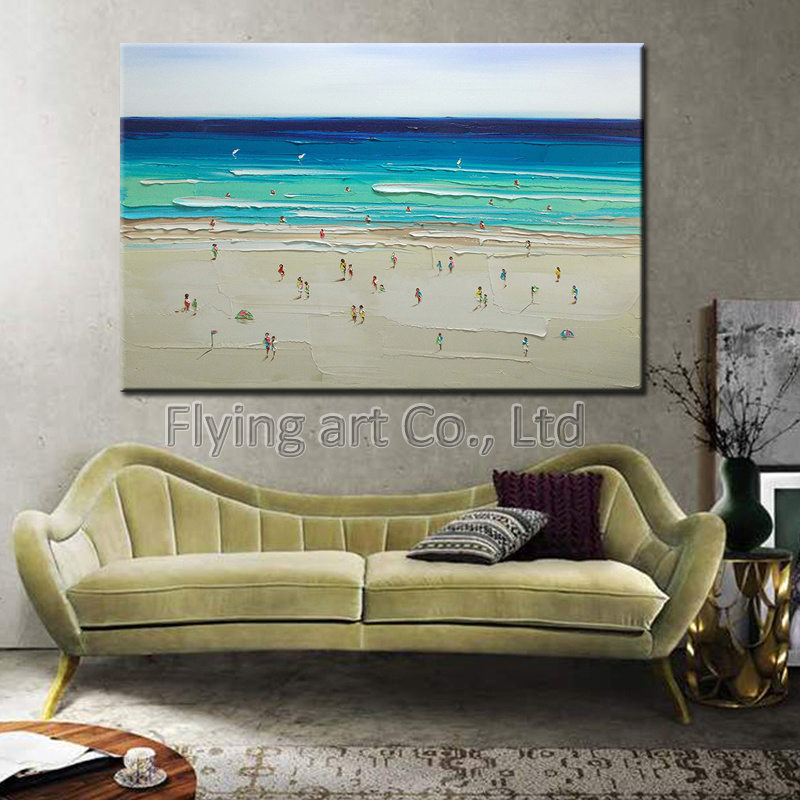 Manufacturer High Quality Impressionistic Landscape Decoration Art Painting
