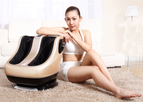 Latest Vibrating Leg and Foot Roller Massager Rt1889