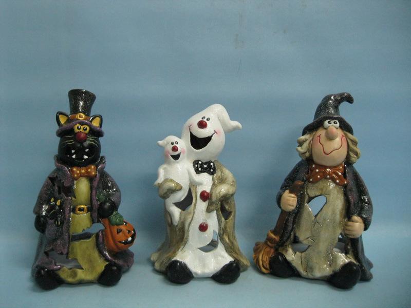Halloween Pumpkin Ceramic Arts and Crafts (LOE2381-A19z)