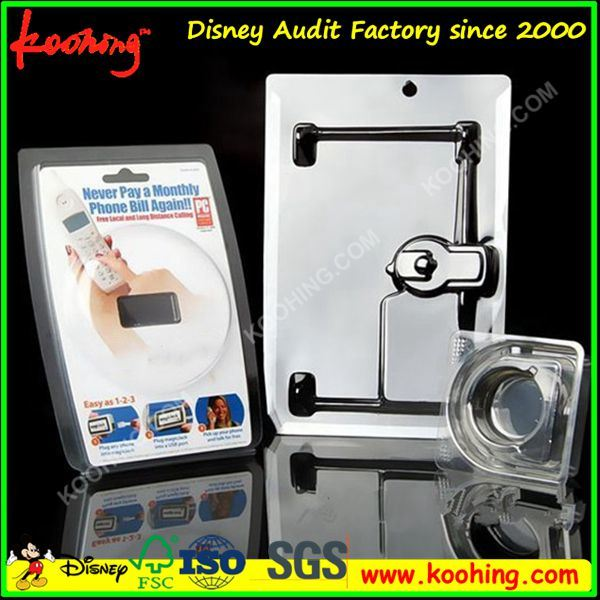 Clamshell Packaging Blister with Back Paper Card Form Quality Manufacturer and Packing printing Factory