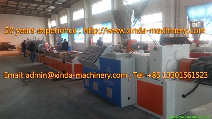 PVC Imitation Marble Decoration Profile Production Line Profile