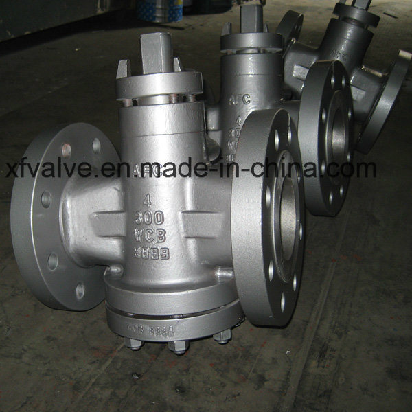 Inverted Pressure Oil Seal Balance Lubricated Flanged End Plug Valve