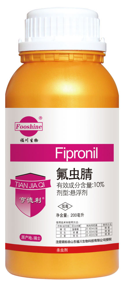 Insecticide Low Toxic Fipronil 10%Sc