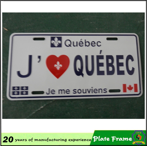 2016 Hot Sale Car License Plate Frame