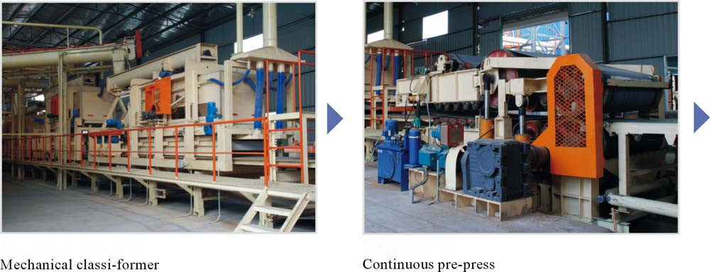 Wood Particle Board Production Line