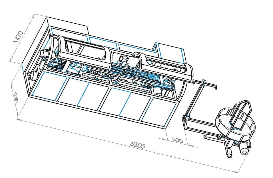 Auto Pocket Spring Machine Spring Mattress Machinery