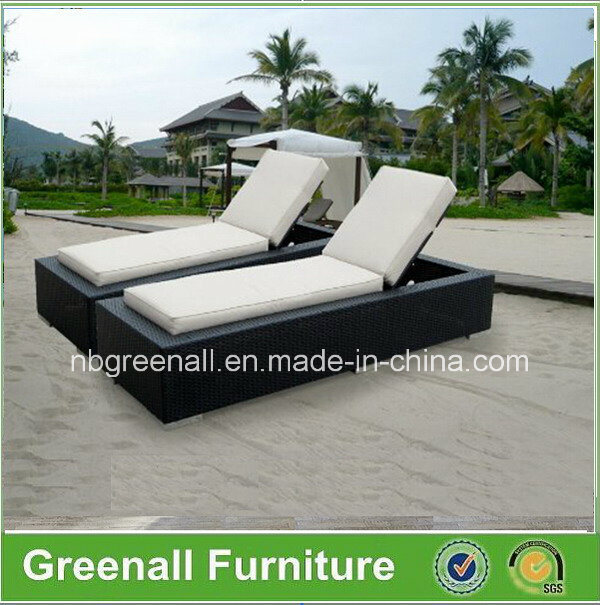 Wicker Aluminum Outdoor Rattan Beach Lounge Leisure Chair