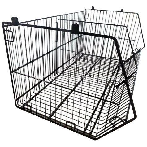 Painted Knock-Down Metal Wire Shelf for Supermarket